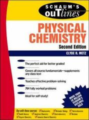 Schaum's Outline of Physical Chemistry 2nd edition 9780070417151 0070417156