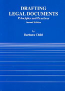 Drafting Legal Documents 2nd Edition 9780314003256 0314003258