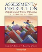 Assessment & Instruction of Reading and Writing Difficulties 4th edition 9780205523412 0205523412