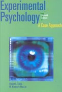 Experimental Psychology 7th Edition 9780205319763 0205319769
