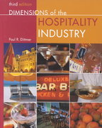 Dimensions of the Hospitality Industry 3rd edition 9780471384793 0471384798