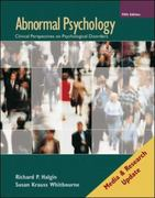 Abnormal Psychology 5th edition 9780077236380 0077236386