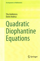 Quadratic Diophantine Equations 1st Edition 9780387541099 0387541098
