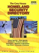 The Grey House Homeland Security Directory 3rd edition 9781592370849 1592370845