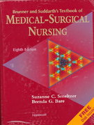 Brunner and Suddarth's Textbook of Medical-Surgical Nursing 8th edition 9780397550739 0397550731