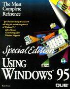 Using Windows 95 0 9781565299214 1565299213