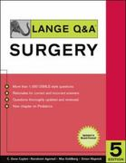 Lange Q&A Surgery, Fifth Edition 5th edition 9780071475662 0071475664