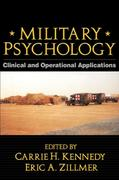 Military Psychology 1st edition 9781572307247 1572307242