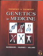 Thompson & Thompson Genetics in Medicine 6th Edition 9780721669021 0721669026
