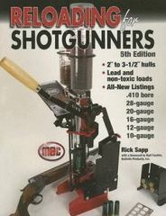 Reloading for Shotgunners 5th edition 9780873498135 0873498135