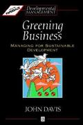 Greening Business 1st edition 9780631193159 0631193154