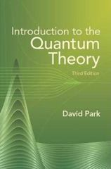 Introduction to the Quantum Theory 3rd Edition 9780486441375 0486441377