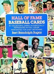Hall of Fame Baseball Cards 0 9780486236247 0486236242