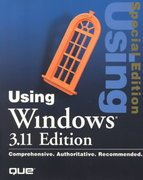 Using Windows 3.11 Edition, Special Edition 3rd edition 9781565298071 1565298071