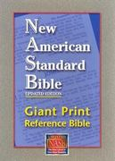 Giant Print Reference Bible-NASB 0 9781581351262 1581351267