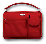 Microfiber Red with Exterior Pockets Lg 0 9780310803539 0310803535