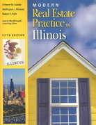 Modern Real Estate Practice in Illinois 5th edition 9780793188352 0793188350