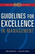Guidelines for Excellence in Management 1st edition 9780324271492 0324271492