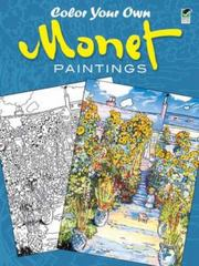 Color Your Own Monet Paintings 0 9780486439945 0486439941