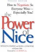 The Power of Nice 2nd Edition 9780471080725 0471080721