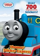 THOMAS' STICKER EXPRESS (Thomas & Friends) 0 9780375841262 0375841261