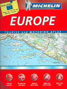 Michelin Europe Tourist and Motoring Atlas 8th edition 9782067112247 2067112244