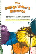 College Writer's Reference and Student OneKey 4th edition 9780131269699 0131269690