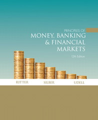 Principles of Money, Banking & Financial Markets plus MyEconLab plus eBook 1-semester Student Access Kit 12th edition 9780321375575 0321375572