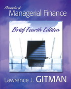 Principles of Managerial Finance 4th edition 9780321478924 0321478924
