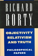 Richard Rorty: Philosophical Papers Set 0 9780521701525 052170152X
