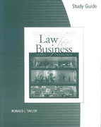 Study Guide/Workbook for Ashcroft/Ashcroft's Law for Business, 16th 16th edition 9780324381566 0324381565