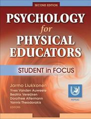 Psychology for Physical Educators 2nd Edition 9780736062404 0736062408