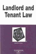 Landlord and Tennant Law 4th 4th edition 9780314259981 0314259988