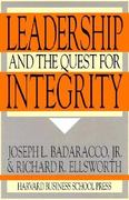 Leadership and the Quest for Integrity 0 9780875844084 0875844081