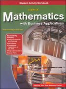 Mathematics with Business Applications, Student Activity Workbook 5th edition 9780078313738 0078313732