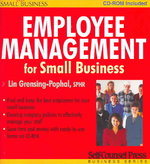 Employee Management for Small Business 2nd edition 9781551806433 1551806436