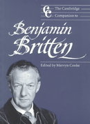 The Cambridge Companion to Benjamin Britten 0 9780521574761 0521574765
