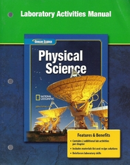 Glencoe Physical iScience, Grade 8, Laboratory Activities Manual, Student Edition 1st edition 9780078660849 007866084X