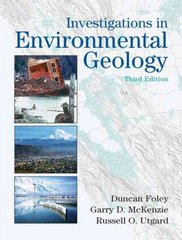 Investigations in Environmental Geology 3rd edition 9780131420649 013142064X