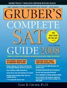 Gruber's Complete SAT Guide 11th edition 9781402211348 1402211341
