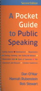 Pocket Guide to Public Speaking 2e & Essential Guide to Interpersonal Communication  & Essential Guide to Group Communication 2nd edition 9780312464738 0312464738