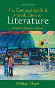 Compact Bedford Introduction to Literature 8e &  i-cite 8th edition 9780312478179 0312478178