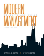Modern Management 11th edition 9780136010166 0136010164