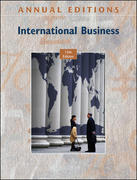 Annual Editions: International Business, 15/e 15th edition 9780073528519 007352851X