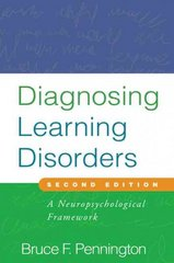 Diagnosing Learning Disorders, Second Edition 2nd Edition 9781593857141 1593857144