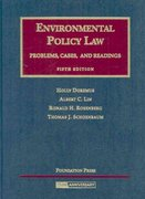Environmental Policy Law 5th edition 9781599410593 1599410591