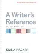Writer's Reference 6e & Critical Thinking, Reading, and Writing 6e 6th edition 9780312385910 0312385919