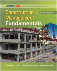 Construction Management Fundamentals 2nd Edition 9780073401041 0073401048