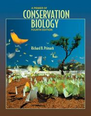 A Primer of Conservation Biology 4th edition 9780878936922 0878936920