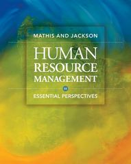 Human Resource Management 5th edition 9780324592412 0324592418